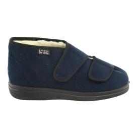 Befado women's shoes pu 986D010 navy blue