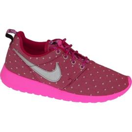 Nike Rosherun Print Gs W shoes 677784-606 pink