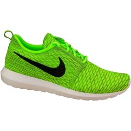 Nike Roshe Nm Flyknit M 677243-700 shoes green
