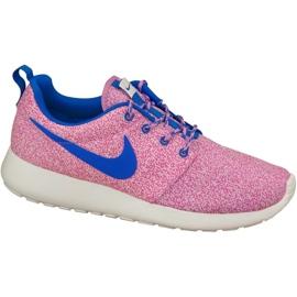 Nike Rosherun Print W 599432-137 shoes pink