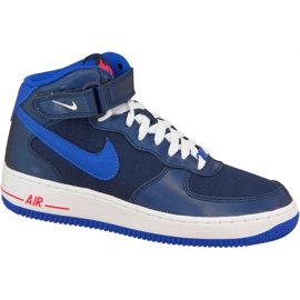 Nike Air Force 1 Mid Gs W 314195-412 shoes navy