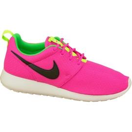 Nike Rosherun Gs W 599729-607 shoes pink
