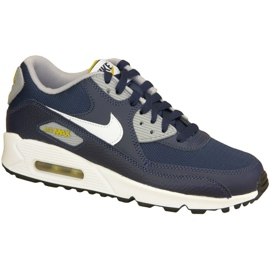 Nike Air Max 90 Gs W 307793-417 shoes navy
