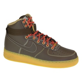 Nike Air Force 1 High M 315121-203 shoes brown