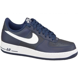 Nike Air Force 1 '07 M 488298-436 shoes navy