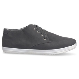 Fashionable High Sneakers 3232 Gray grey