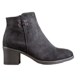 Clowse Black Ankle Boots