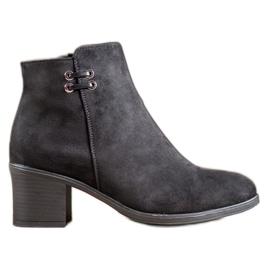 Clowse Black Ankle Boots