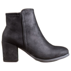 Clowse Classic Black Ankle Boots