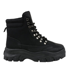 Black insulated trappers W-70