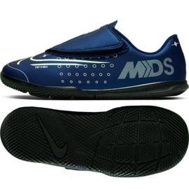 Nike Mercurial Vapor 13 Club Mds Ic PS (V) Jr CJ1176-401 indoor shoes navy