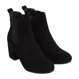 Black Jodhpur boots black 2208-132 Black