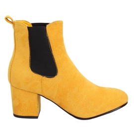 Yellow Jodhpur boots yellow 2208-132 Yellow