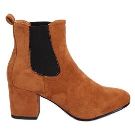 High heels Camel 2208-132 Camel brown