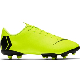 Nike Mercurial Vapor 12 Academy Mg Jr AH7347 701 football shoes yellow