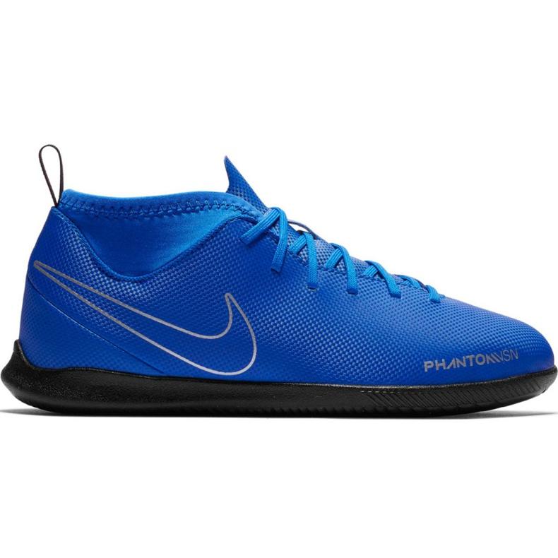 Nike Phantom Vsn Club Df Ic Jr AO3293 400 football shoes blue blue