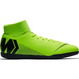 Nike Mercurial Superfly X 6 Club Ic M AH7371 701 football shoes green