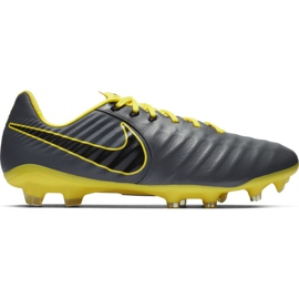 Nike Tiempo Legend 7 Pro Fg M AH7241 070 football shoes grey