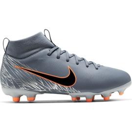 Nike Mercurial Superfly 6 Academy Mg Jr AH7337 408 football shoes grey