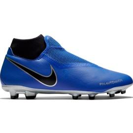 Nike Phantom Vsn Academy Df FG / MG M AO3258 400 football shoes blue