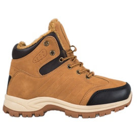 SHELOVET Insulated Sport Boots brown