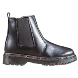 SHELOVET Jodhpur boots on the platform black