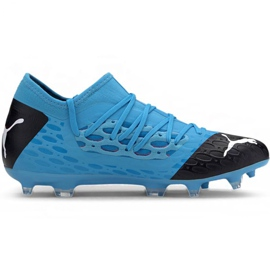 Puma Future 5.3 Netfit Fg Ag M 105756 01 football shoes blue