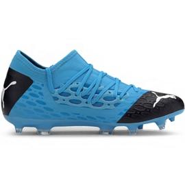 Puma Future 5.3 Netfit Fg Ag M 105756 01 football shoes blue blue