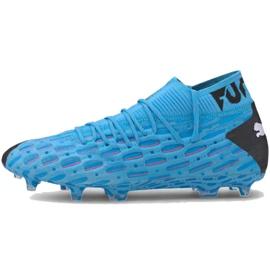 Puma Future 5.1 Netfit Fg Ag M 105755 01 football shoes blue