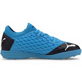 Puma Future 5.4 Tt Jr 105813 01 football shoes blue blue