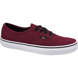 Vans Authentic W VQER5U8 shoes red