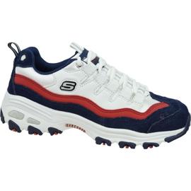 Skechers D'Lites W 13141-WNVR shoes white