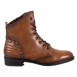 Elegant VINCEZA Boots brown