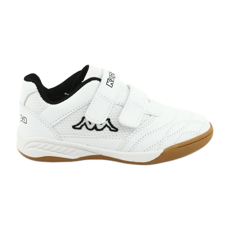 Kappa Kickoff Jr 260509K 1011 shoes white black