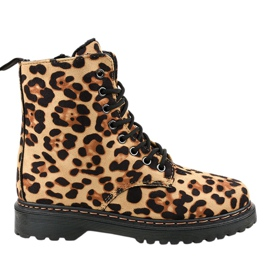 Leopard insulated boots DJH01-18