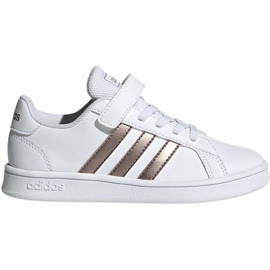 Adidas Grand Court C Jr EF0107 shoes white
