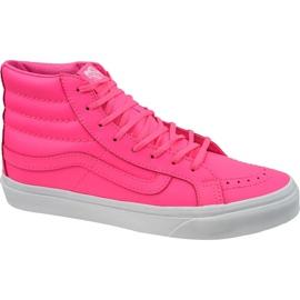 Vans Sk8-Hi Slim W VA32R2MW4 shoes pink