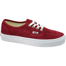 Vans Authentic W VN0A38EMU5M1 shoes red
