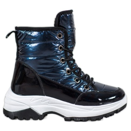 SHELOVET Sport Snow Boots blue