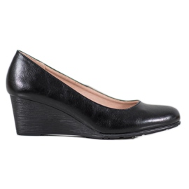 Classic pumps on the wedge VINCEZA black