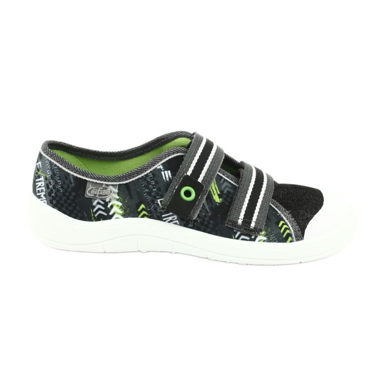 Befado children's shoes 672Y069 black grey green