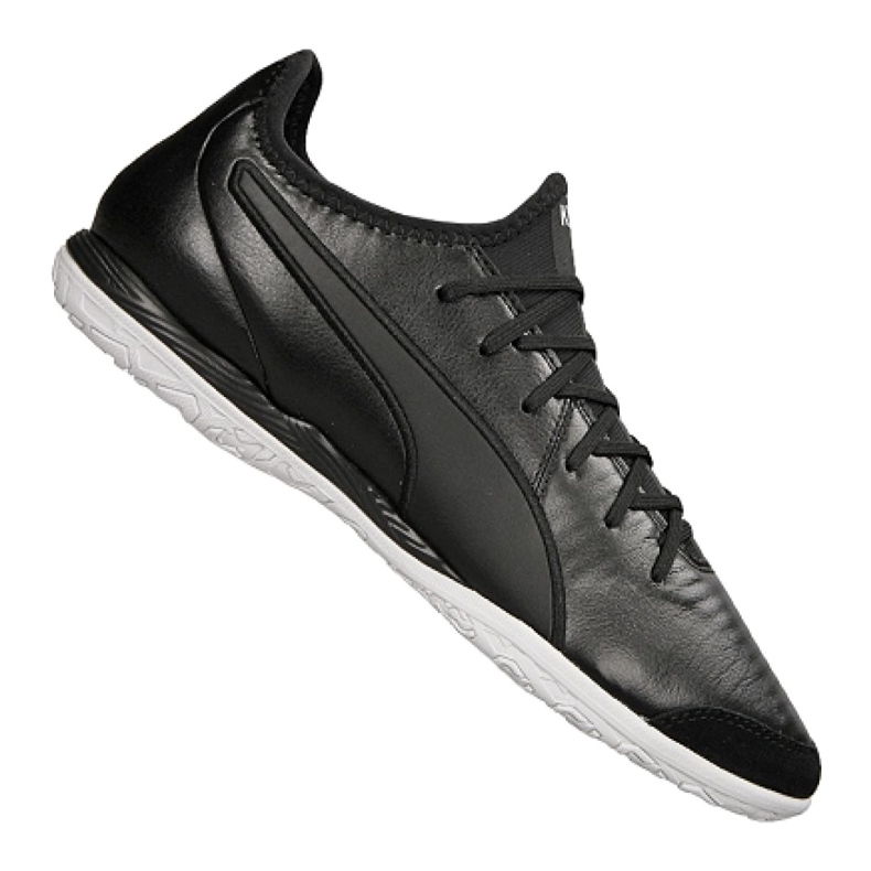 Puma King Pro It M 105669-01 indoor shoes black black
