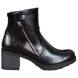 SHELOVET Ankle boots black