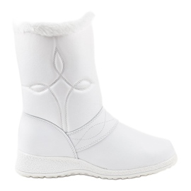 White snow boots booties 69