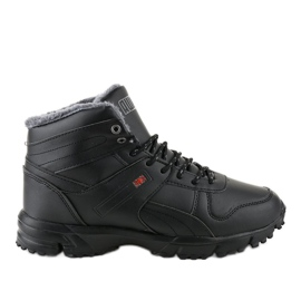Black insulated track shoes MC783-1