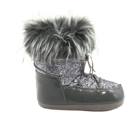 Comfortable Snow Boots grey
