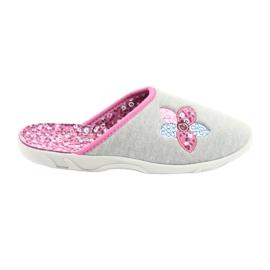 Befado colored women's shoes 235D155 grey