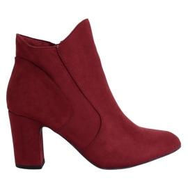 Burgundy heels K1809810 Burdeos red
