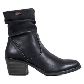 J. Star Cowboy Boots With Eco Leather black