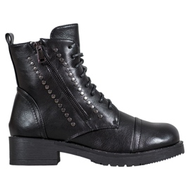 J. Star Warm Workers With Rhinestones black